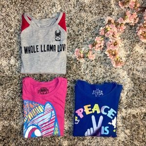 Long Sleeve Tee Shirt Bundle - Girls 7/8
